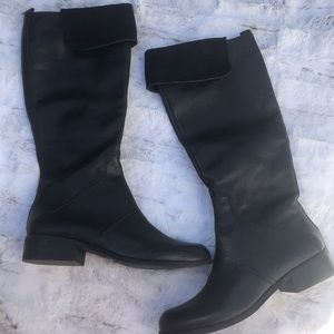 Nine West Leather Tall Boots